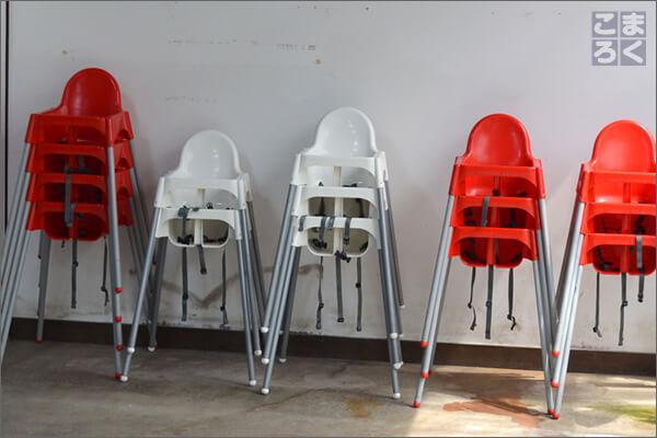 ちょっと目立たない子供用の椅子