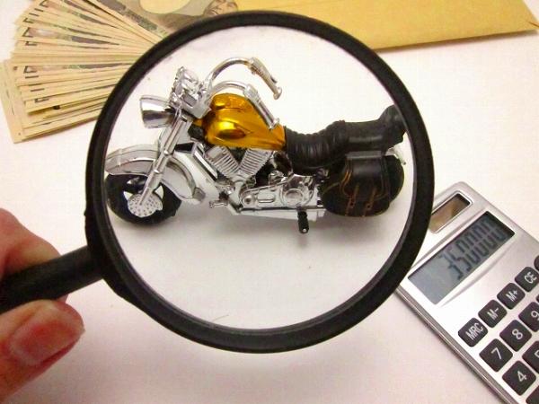 一括査定サイトでバイクの値段を調べる