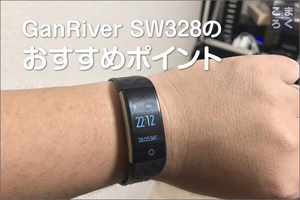 GanRiver SW328のおすすめポイント